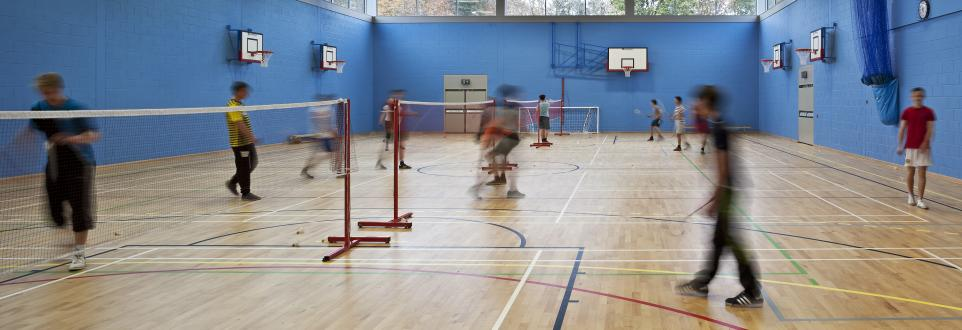 Sports Flooring - Auchmuty High School